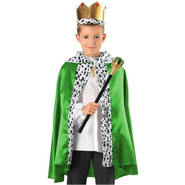 """Strój dla dzieci """"Król"""", zielony, KRASZEK, rozm. uniw."""
