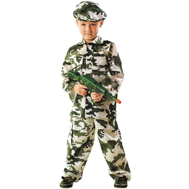"""Strój dla dzieci """"Żołnierz"""", KRASZEK, rozm. 110/116 cm"""