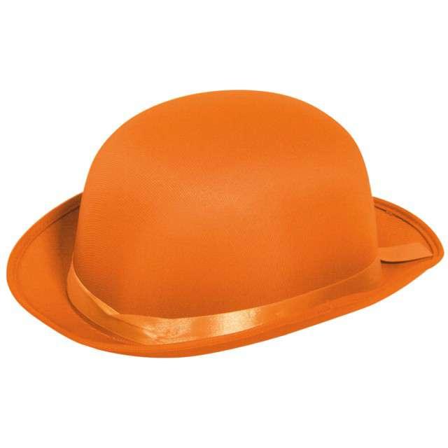 "Kapelusz ""Bowler"", pomarańczowy, FOLAT"