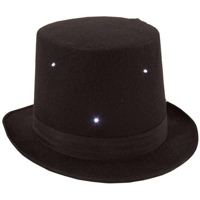 """Kapelusz """"Elegant LED"""", czarny, FOLAT"""