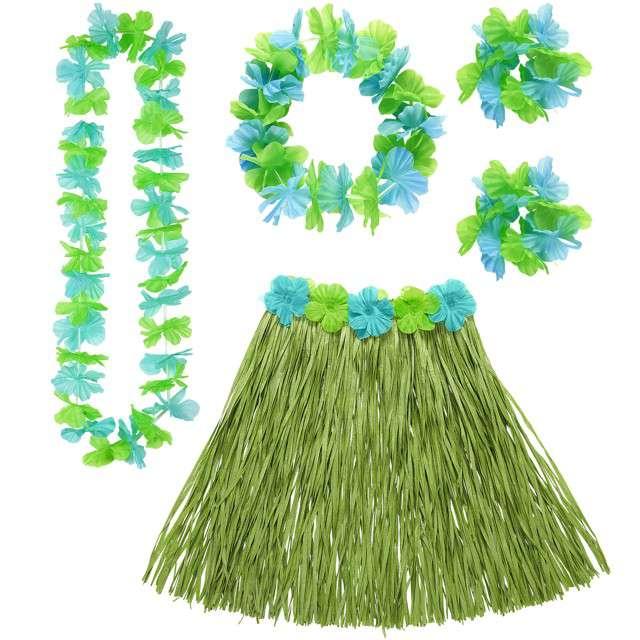 """Zestaw """"Hawaje Deluxe"""", zielony, WIDMANN"""