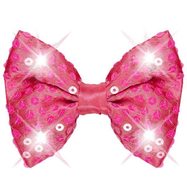 "Mucha ""Deluxe LED"", różowa cekinowa, WIDMANN"