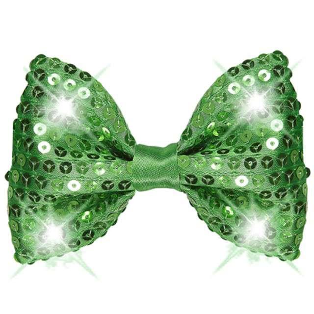 "Mucha ""Deluxe LED"", zielona cekinowa, WIDMANN"