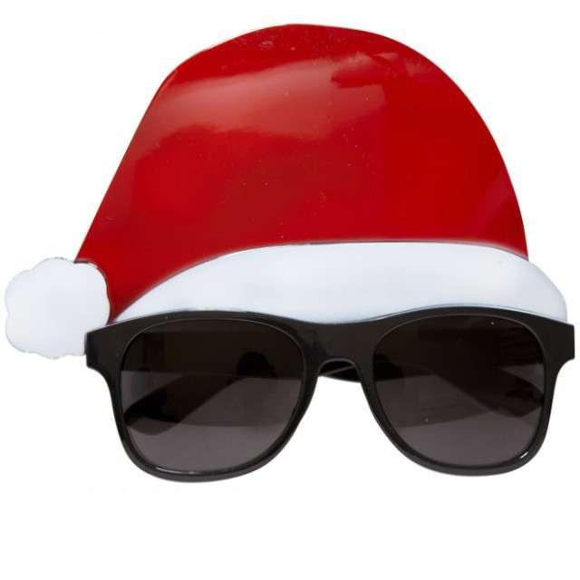 """Okulary party """"Święty Mikołaj w czapce"""", Widmann"""
