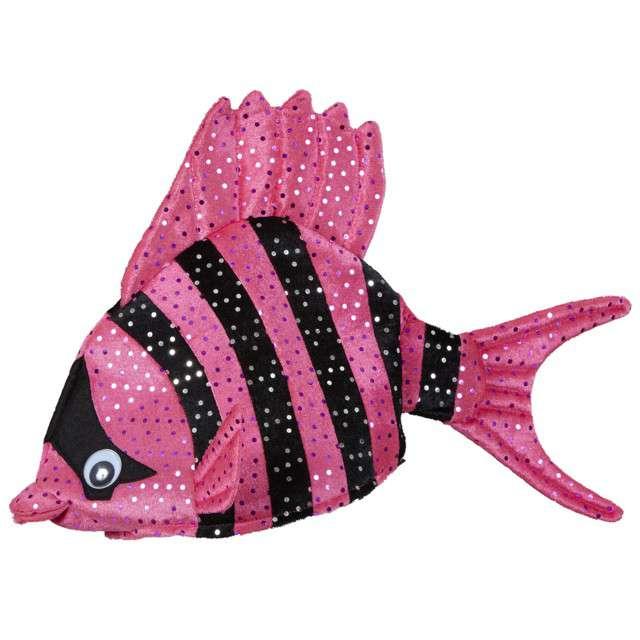 """Czapka """"Ryba Tropikalna"""", różowa, WIDMANN"""