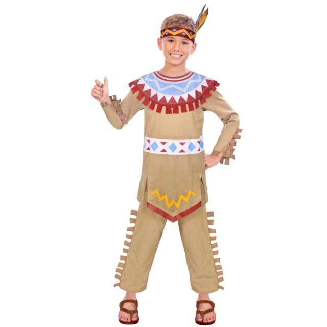 """Strój dla dzieci """"Indianin Tomahawk"""", AMSCAN, rozm. 6-8 lat"""