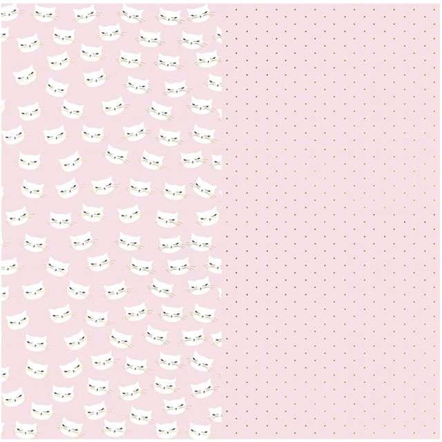 """Papier do pakowania """"Kotek"""", PartyDeco, 70x200 cm, x2"""