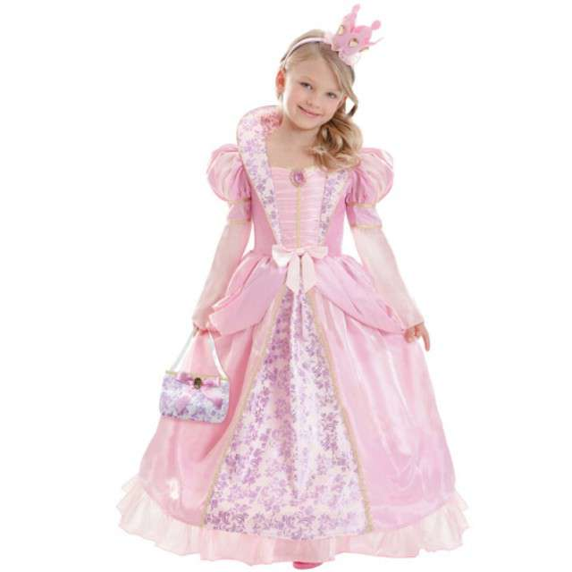 """Strój dla dzieci """"Różowa Księżniczka"""", AMCAN, rozm. 8-10 lat"""