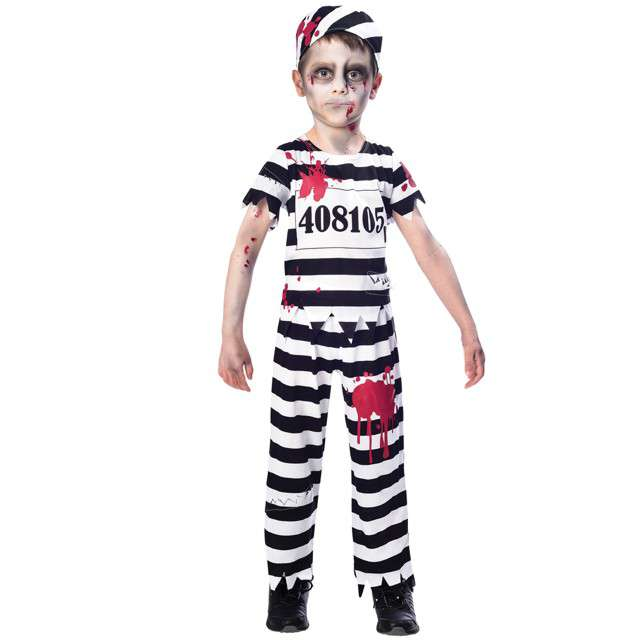 """Strój dla dzieci """"Więzień Zombie"""", AMSCAN, rozm. 11-12 lat"""