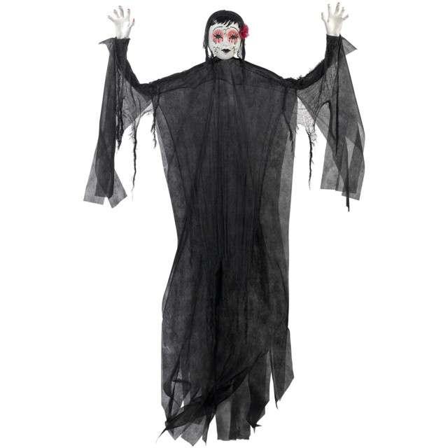 "Dekoracja wisząca ""Lalka Halloween"", AMSCAN, 210 cm"