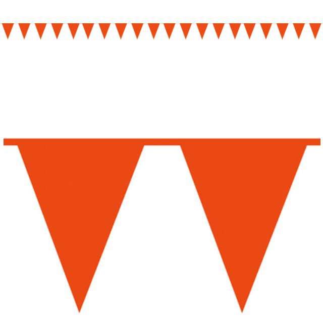 "Baner flagi ""Premium"", pomarańczowy, AMSCAN, 1000 cm"