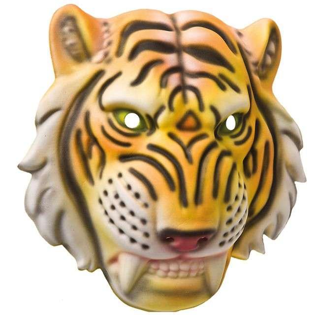 """Maska """"Tygrys"""", pianka EVA, Carnival Toys"""