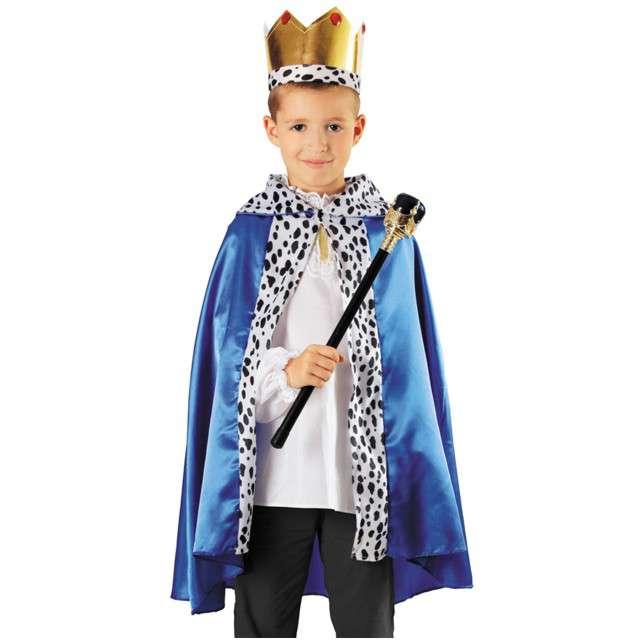 """Strój dla dzieci """"Król"""", niebieski, KRASZEK, rozm. uniw."""