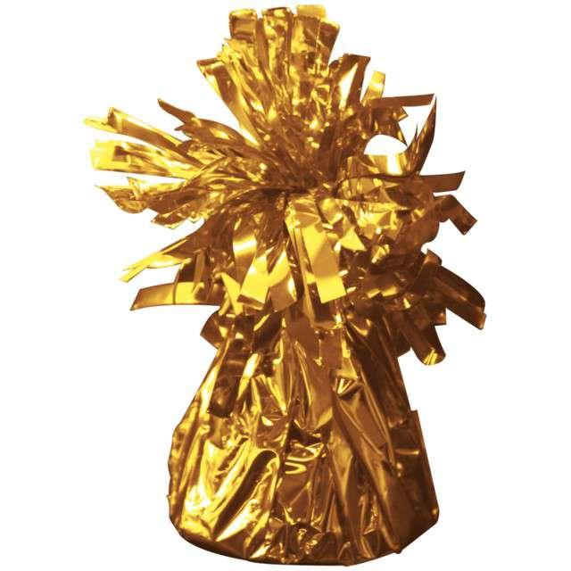 Obciążnik do balonów, foliowy, złoty, FOLAT