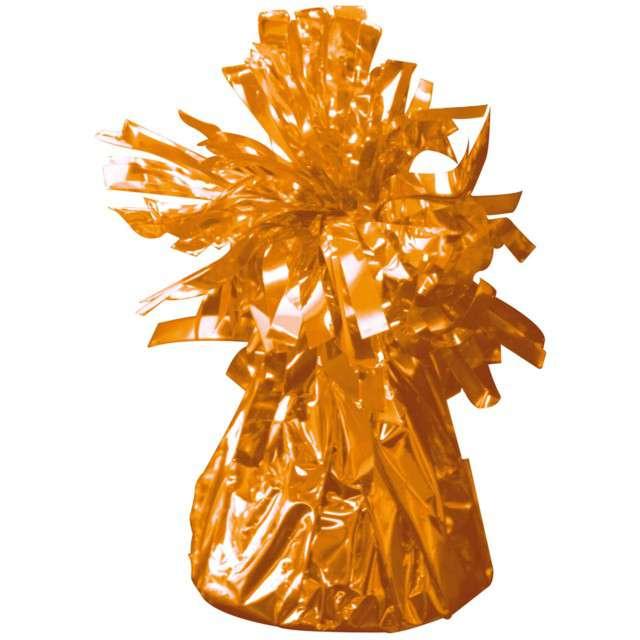 Obciążnik do balonów, foliowy, pomarańczowy, FOLAT