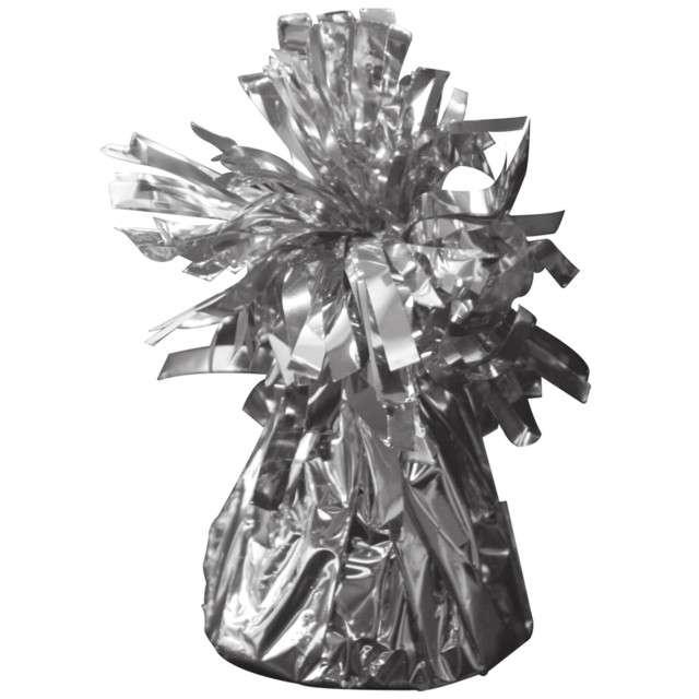 Obciążnik do balonów, foliowy, srebrny, FOLAT