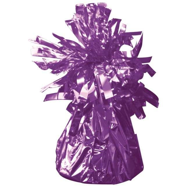 Obciążnik do balonów, foliowy, fioletowy, FOLAT