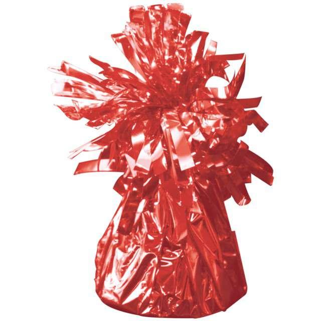 Obciążnik do balonów, foliowy, czerwony, FOLAT