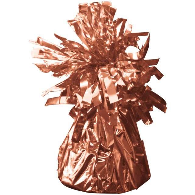 Obciążnik do balonów, foliowy, różowe złoto, FOLAT