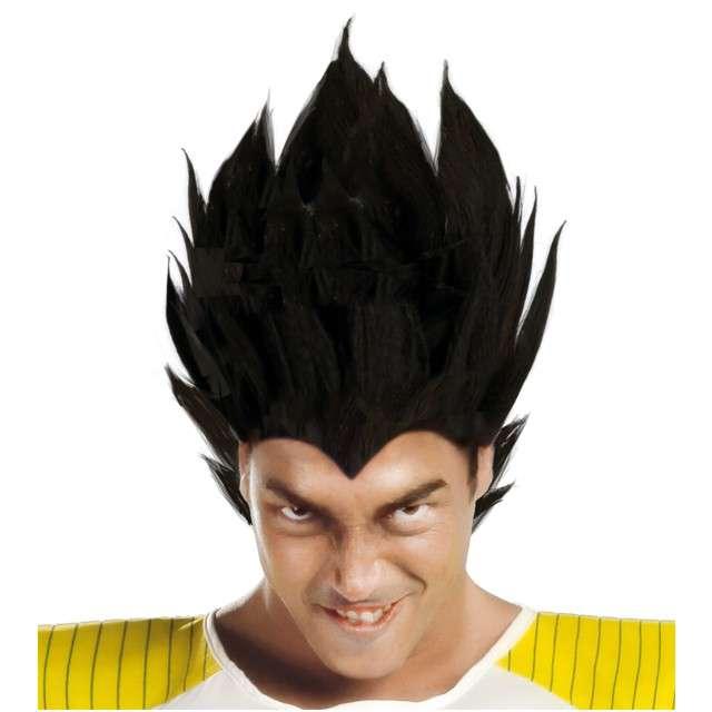 "Peruka party ""Vegeta - Dragon Ball"", czarna, GUIRCA"