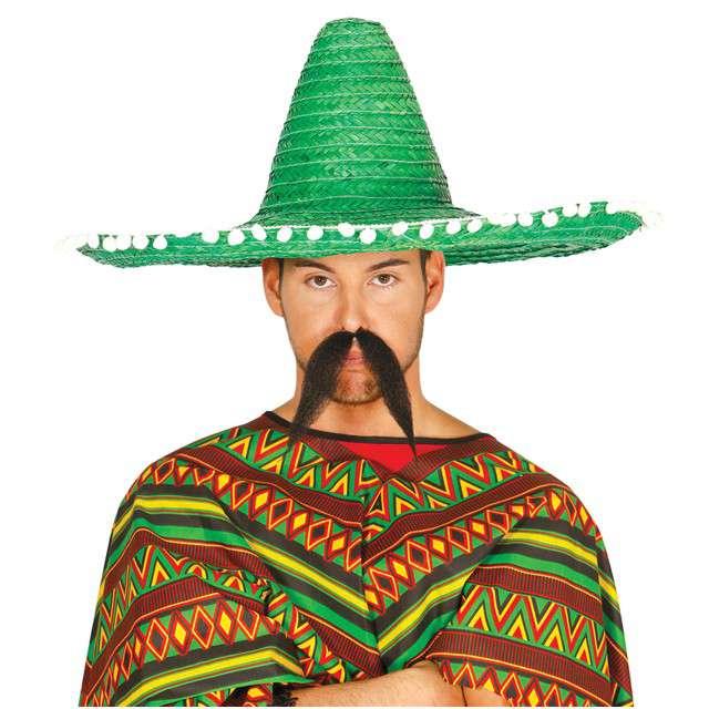 "Kapelusz ""Sombrero Meksykanina"", zielony, GUIRCA"