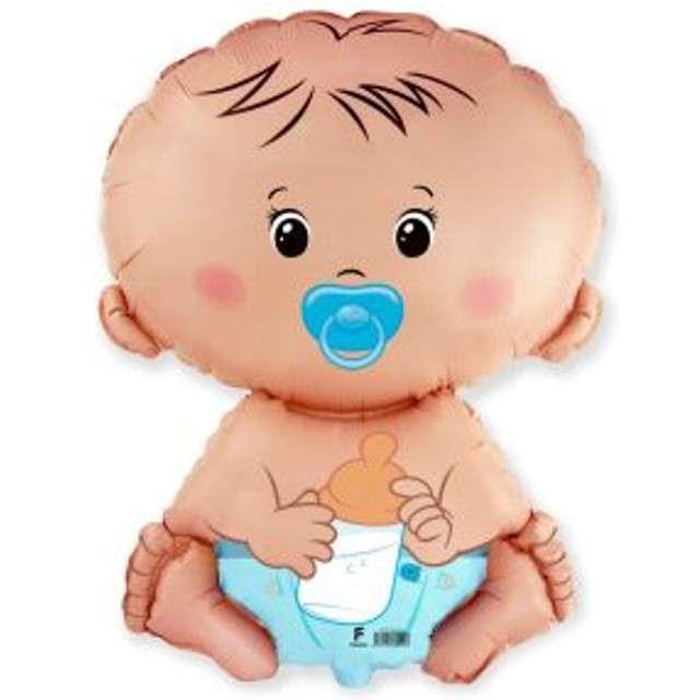 Balon foliowy Bobas Chłopiec FLEXMETAL 26