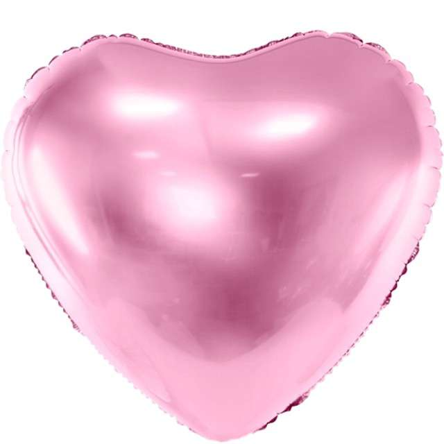 """Balon foliowy """"Serce"""", 24"""" , PartyDeco różowy"""