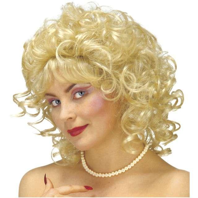"Peruka party ""Milly"", blond, WIDMANN"