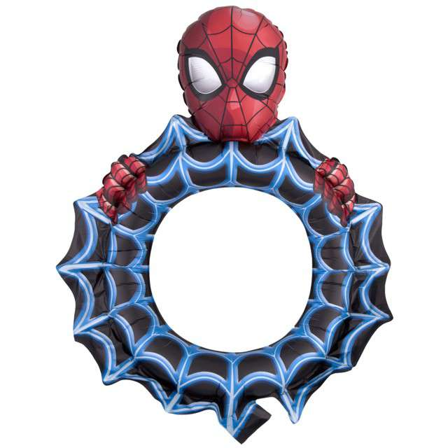 "Balon foliowy ""SpiderMan - Ramka Selfie"", AMSCAN, 32"" SHP"
