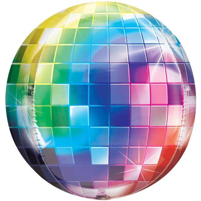 "Balon foliowy ""Disco Ball"", AMSCAN, 16"" ORB"