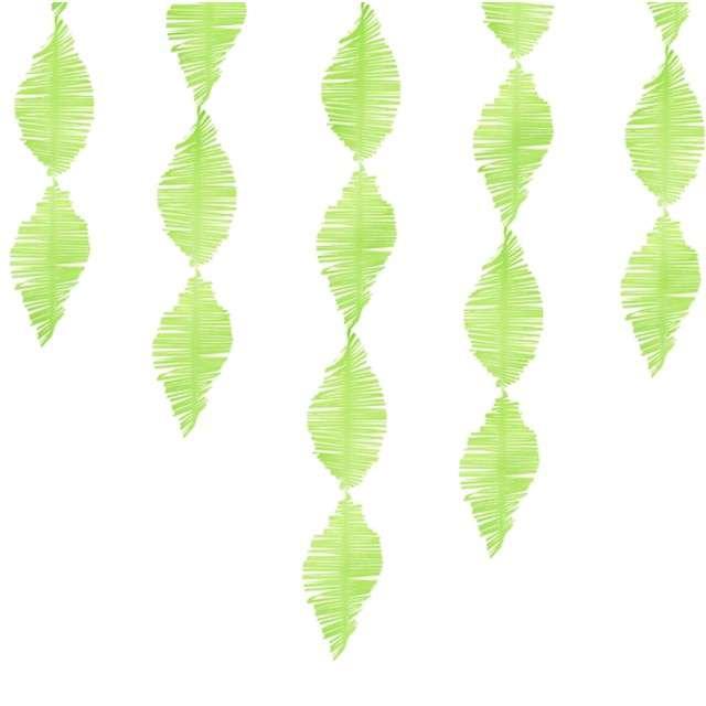 """Girlanda """"Frędzle"""", zielone jabłuszko, PartyDeaco, 300 cm"""
