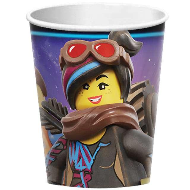 "Kubeczki papierowe ""Lego Movie 2"", AMSCAN, 266 ml, 8 szt"