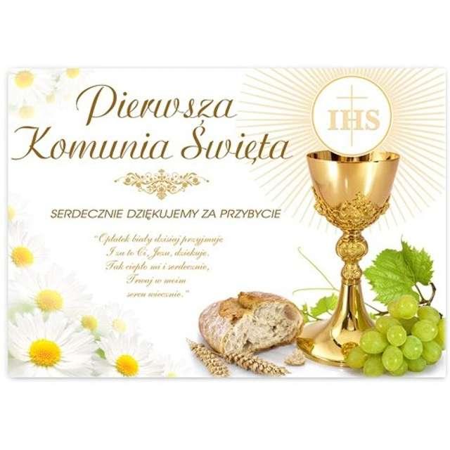"""Plakat """"Komunia podziękowanie"""", VIPER, 68x48 cm"""