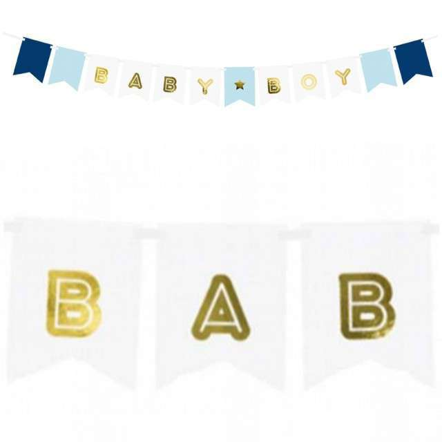 "Baner ""Baby Boy"", mix 2, PartyDeco, 160 cm"
