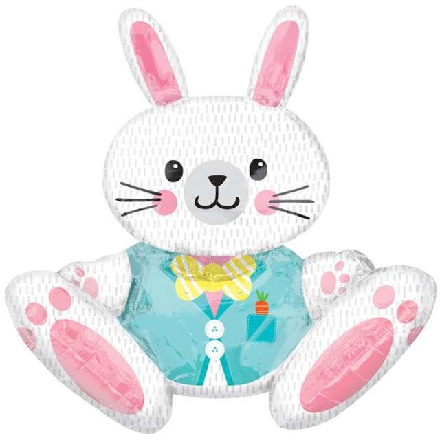 """Balon foliowy """"Zajączek - Bunny 3D"""", AMSCAN, 30"""" SHP"""