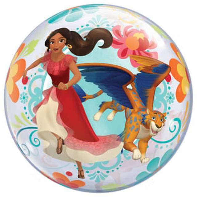 Balon foliowy Elena of Avalor Qualatex Bubbles 22