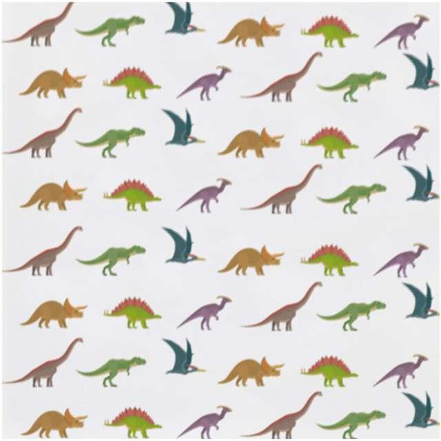 "Serwetki ""Happy Dinosaur"", AMSCAN, 25 cm, 20 szt"