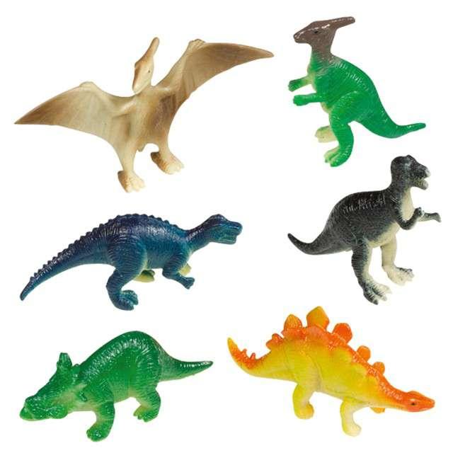 "Dekoracja ""Figurki - Happy Dinosaur"", AMSCAN, 8 szt"
