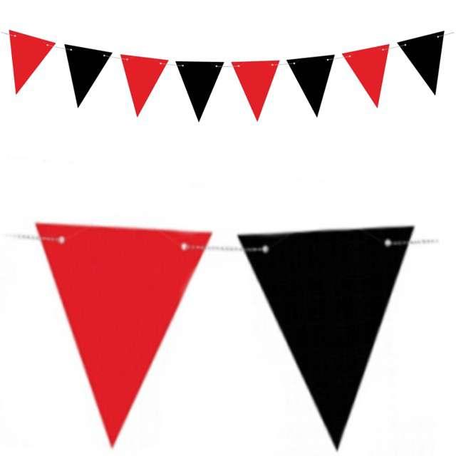 "Baner flagi ""Piraci - Flagietki"", mix, PartyDeco, 130 cm"