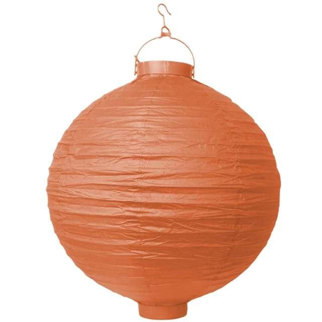"""Lampion papierowy """"LAO20"""", pomarańczowy, Partydeco, 20 cm"""