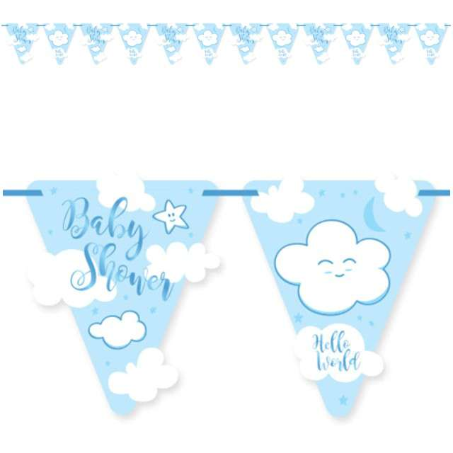 "Baner flagi ""Baby shower - Boy"", FOLAT, 600 cm"