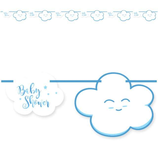 "Baner ""Baby Shower - Boy"", FOLAT, 400 cm"