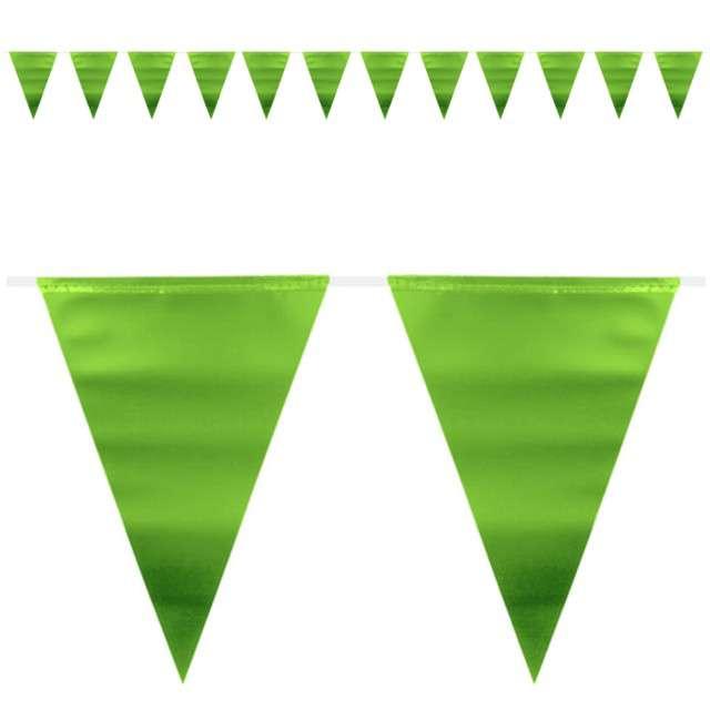 "Baner flagi ""Metaliczny - zielony"", FOLAT, 600 cm"