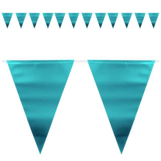 """Baner flagi """"Metaliczny - niebieski"""", FOLAT, 600 cm"""