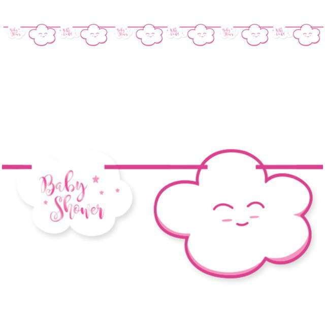 "Baner ""Baby Shower - Girl"", FOLAT, 400 cm"