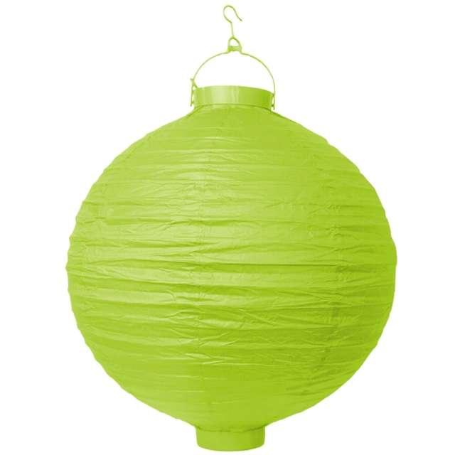 """Lampion papierowy """"LAO20"""", zielone jabłuszko, Partydeco, 20 cm"""