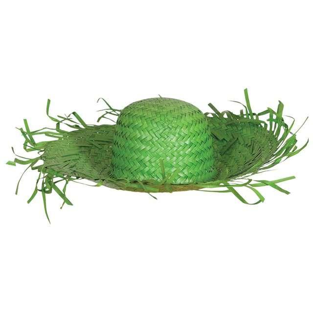"""Kapelusz """"Strach na wróble"""", zielony, GUIRCA"""