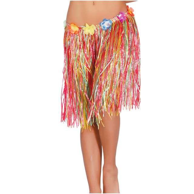 "Spódnica ""Hawajska Krótka"", tęczowa, GUIRCA, 50 cm"