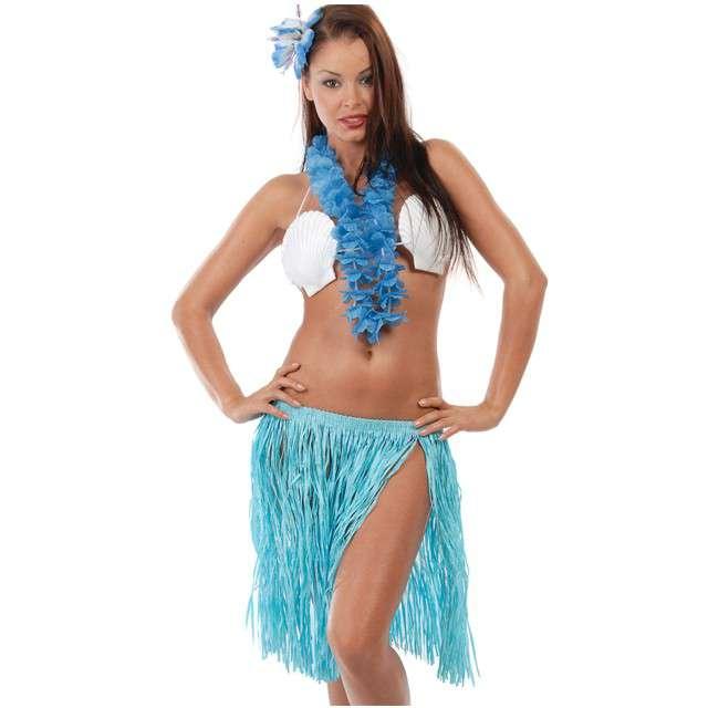 """Zestaw """"Hawajskie Party"""", niebieski, GUIRCA"""