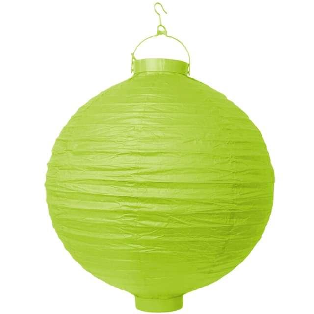 """Lampion papierowy """"LAO30"""", zielone jabłuszko, Partydeco, 30 cm"""